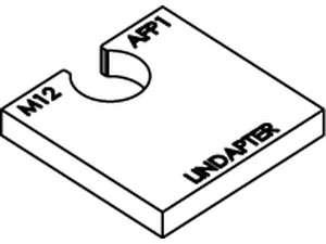 LINDAPTER-Ausgleichscheibe AF P1 feuerverzinkt