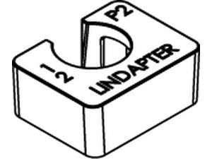 LINDAPTER-Ausgleichscheiben P2 kurz Temperguss galvanisch verzinkt