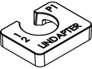 LINDAPTER-Ausgleichscheiben P1 kurz Temperguss feuerverzinkt