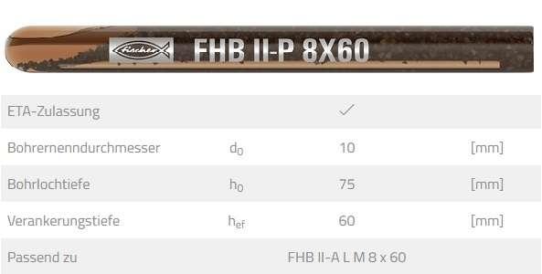 fischer Reaktionspatrone FHB II-P