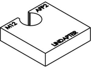 LINDAPTER-Ausgleichscheibe AF P2 feuerverzinkt
