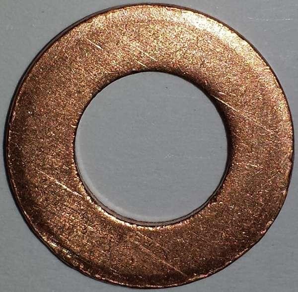 Unterlegscheiben aus Kupfer DIN 125 Produktklasse A