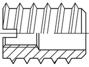 DIN 7965 Einschraubmutter Rampa verzinkt