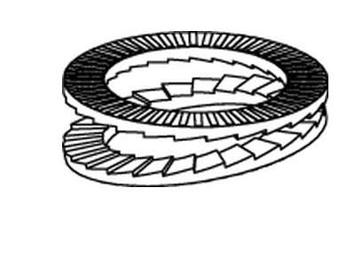 NORD-LOCK-Scheiben DNL SP Stahl zinklamellenbeschichtet