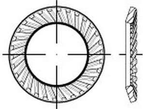 Schnorr-Scheiben Form VS Federstahl